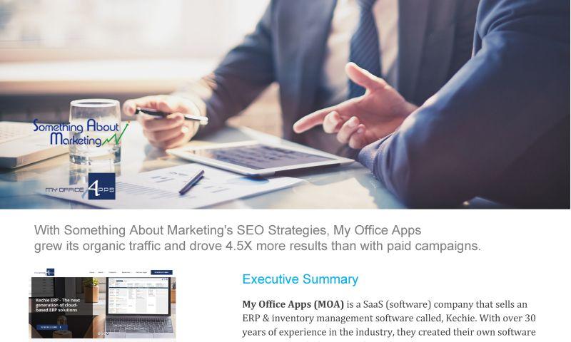 Something About Marketing - SEO Google Ranking