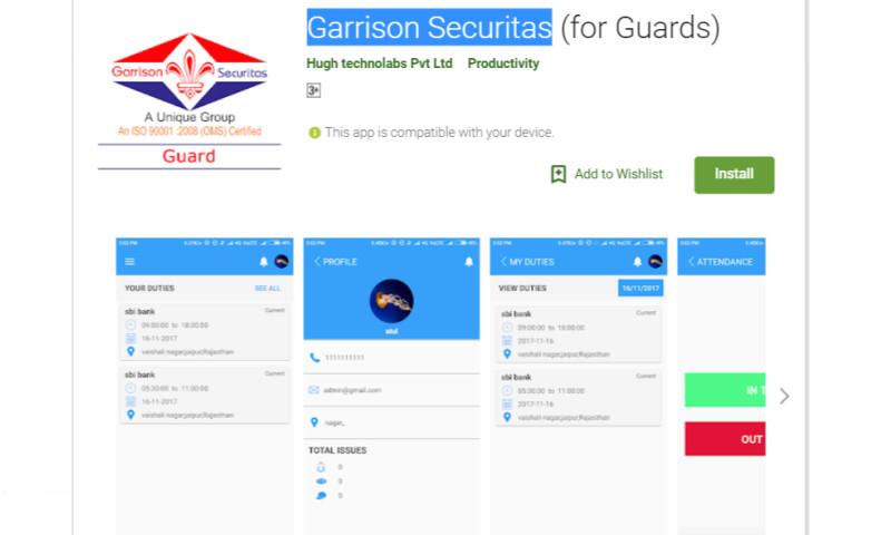 Hughtechnolabs Pvt Ltd (HTL) - Garrison Securitas
