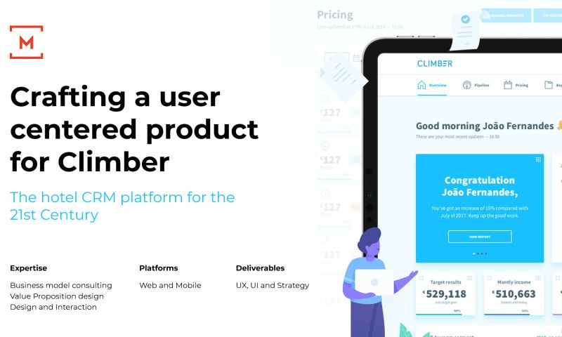 Monday - Crafting a user centered product for Climber