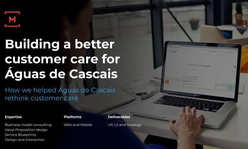 Monday - Building a better customer care for Águas de Cascais