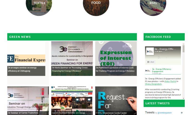 HYPE Dhaka - Website for 3e - Energy Efficiency Engagement