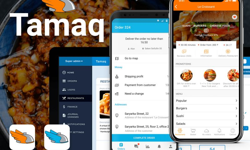 Woxapp - Tamaq: food delivery service
