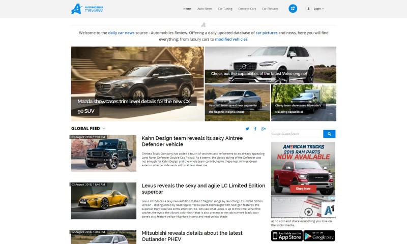 BGO Software - AutomobilesReview