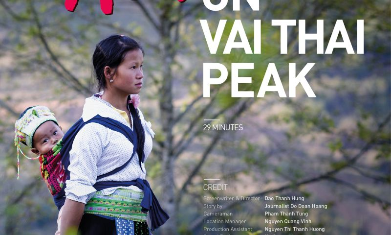 Red Bridge TV & Film Production Services - Young Mother on Vai Thai Peak