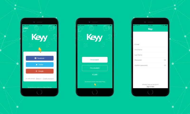 WebDesk Solution LLC - Keyy Mobile Application