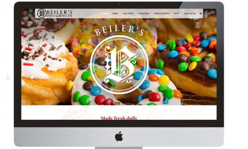 Elysium Marketing Group - Beiler's Doughnuts Website
