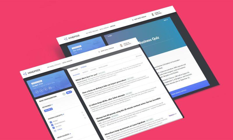 VT Netzwelt - MindPeer - Web App Development