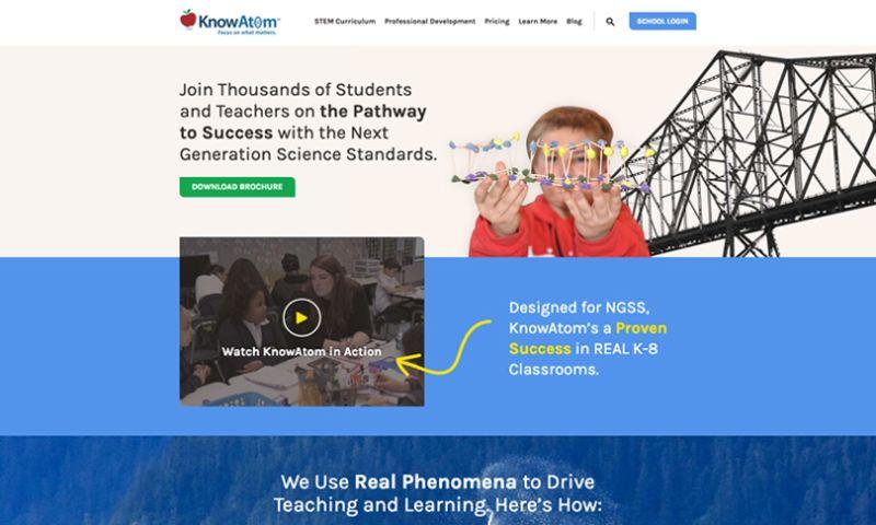 Spot On - KnowAtom Website