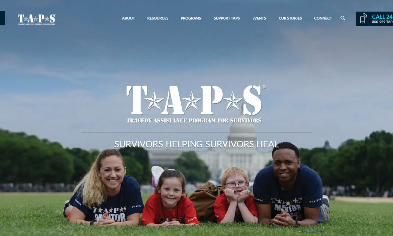 Wakefly, Inc. - Tragedy Assistance Program for Survivors (TAPS) Web Redesign, Information Architecture & CMS Implementation