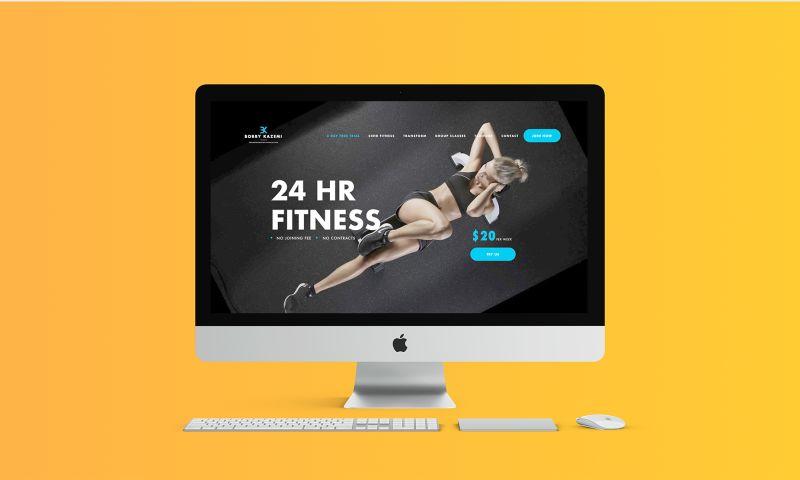 ROCKETSHP - Fitness Website
