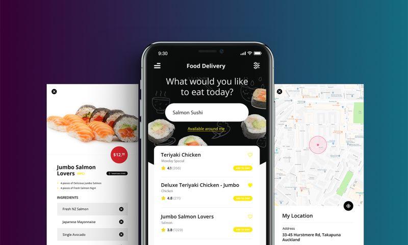 ROCKETSHP - Sushi App