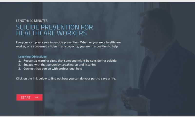 ModernEpic - Suicide Prevention for Health Care Workers