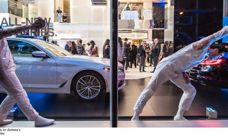 CBX - Sotheby's & BMW
