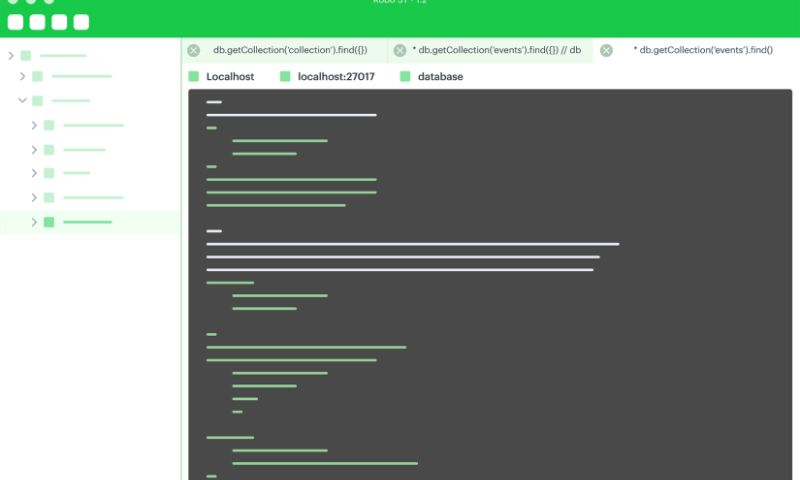 Paralect - MongoDB management tool