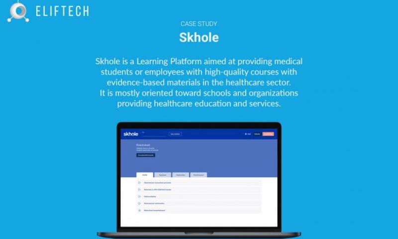 ELIFTECH - Skhole - a Learning Platform