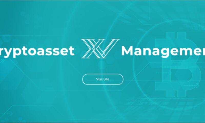 UPQODE - Website for XV Cryptoasset Management