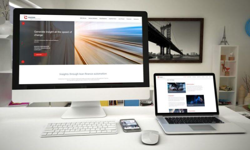 UPQODE - Caiden Corporate WordPress Website