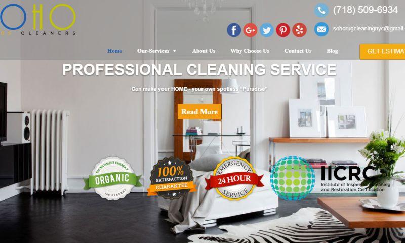 Webomaze Technologies - Soho Rug Cleaning