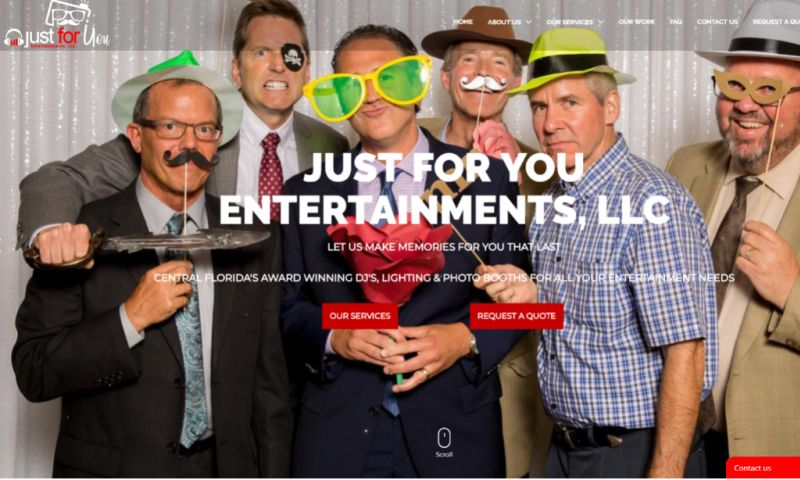 SITE IT NOW - Just For You Entertainments, LLC