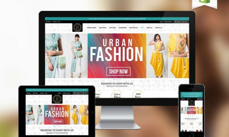 Planet Web Solutions Pvt. Ltd - E-Commerce Clothing Website