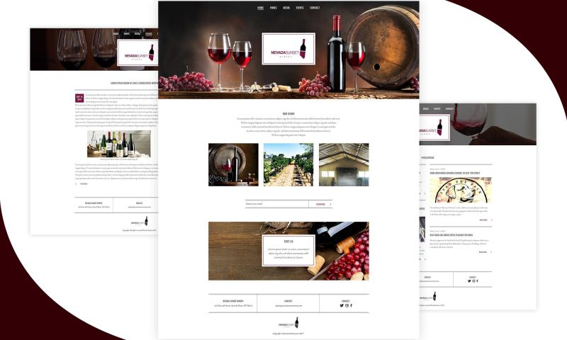 F5 Studio - Winery Nevada Sunset