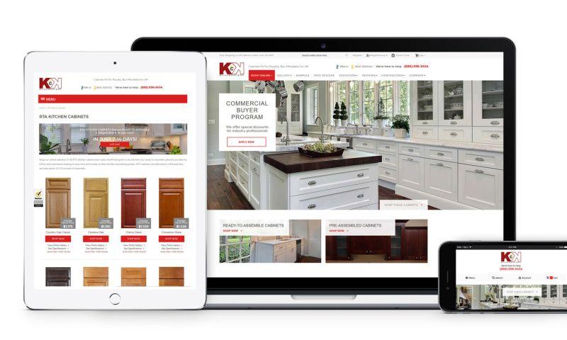 Clemson Web Design - Kitchen Cabinet Kings