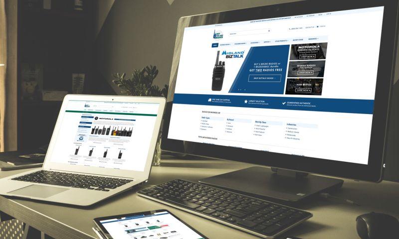 Clemson Web Design - BuyTwoWayRadios