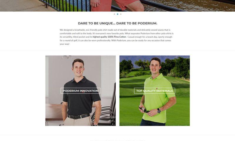 Clemson Web Design - Poderium