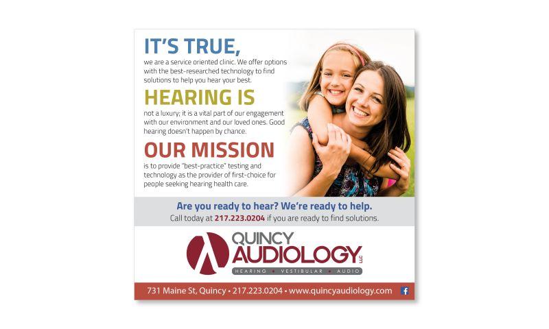 Media Development - Quincy Audiology