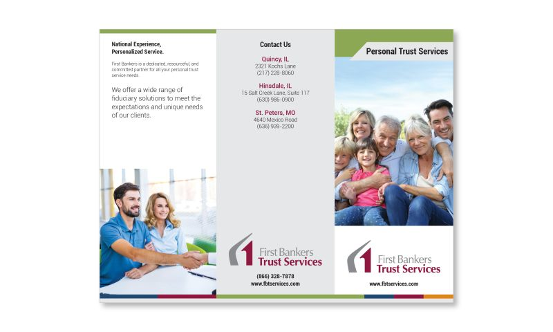 Media Development - First Bankers Trust Services