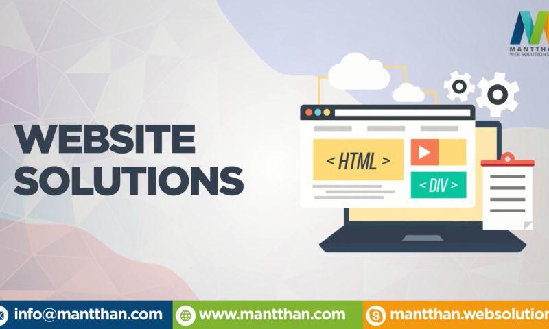Mantthan Web Solutions LLP - Short Company Profile
