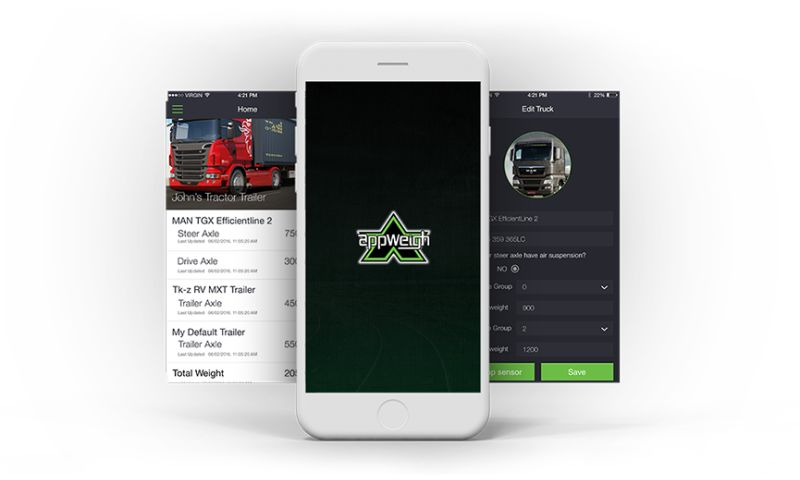 Biz4Solutions LLC - AppWeigh - Bluetooth Enabled Scale Sensor App for the Commercial Transport Industry