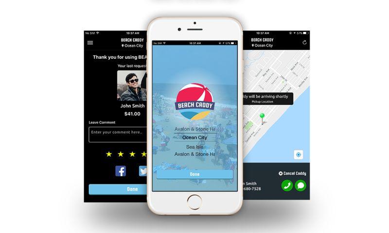 Biz4Solutions LLC - Beach Caddy - World's First On-Demand App for Beachgoers