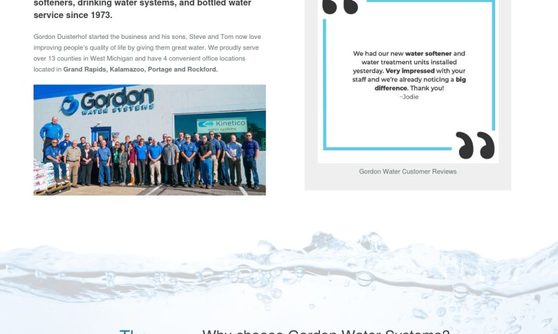Grand Apps - Gordon Water Systems