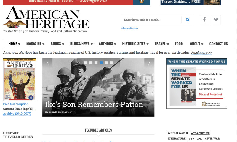 Valuebound - American Heritage Magazine Migration - Drupal 8