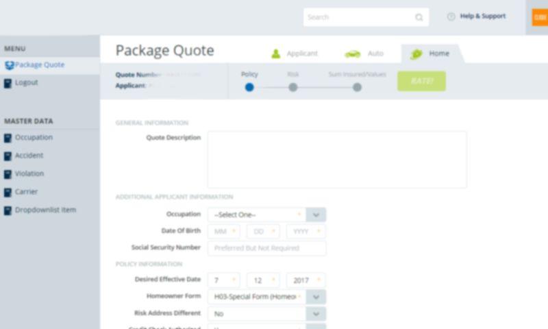 Prishusoft - Insurance - Enterprise Application