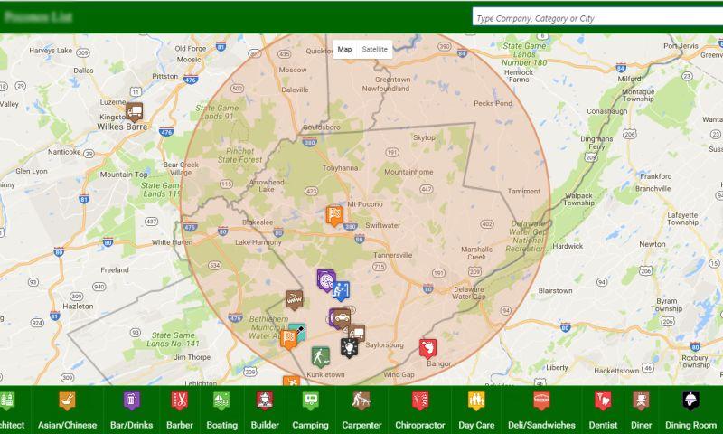 Prishusoft - Custom Google Map Project