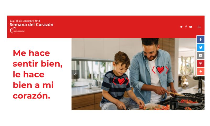 Dugson - A website good for the heart - 27th Heart Week in Uruguay