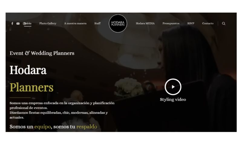 Dugson - A chic, modern, aligned and updated web page
