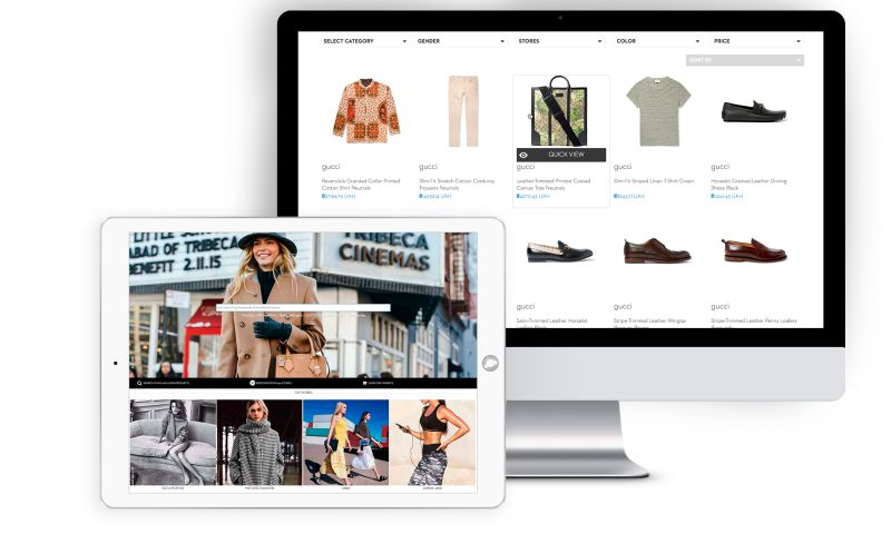 SEVEN - Shopping Comparison Engine and Website