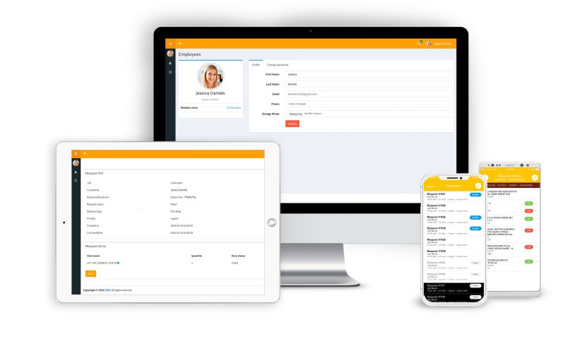 SEVEN - BI Tool, Asset and Inventory Management Mobile App for Construction Companies