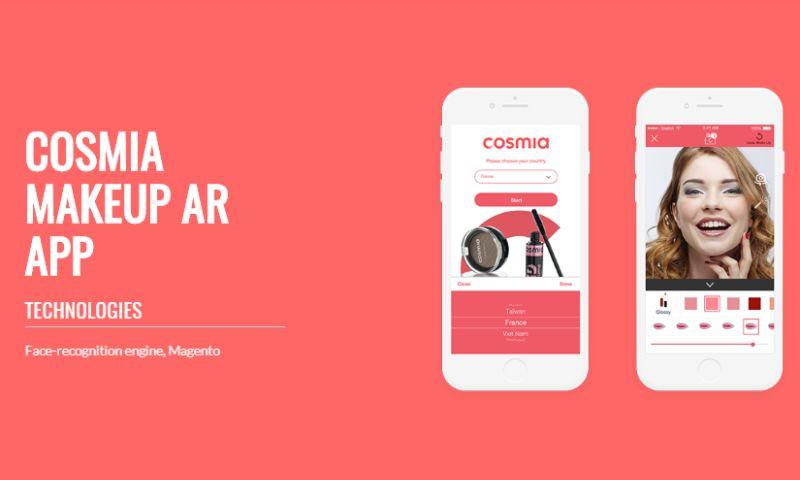Skywell Software - Cosmia AR Makeup app