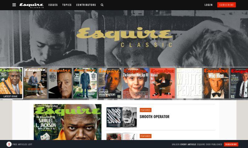 Cantilever - Esquire Classic