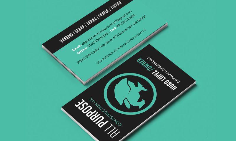 Peterman Design Firm - Business Cards