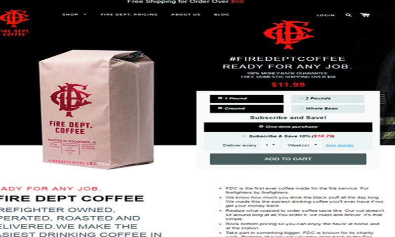 Webinopoly Inc - Fire Dept. Coffee