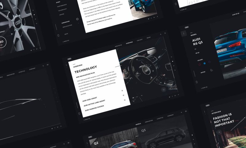 Efir Media - The World of Audi Redesign Concept
