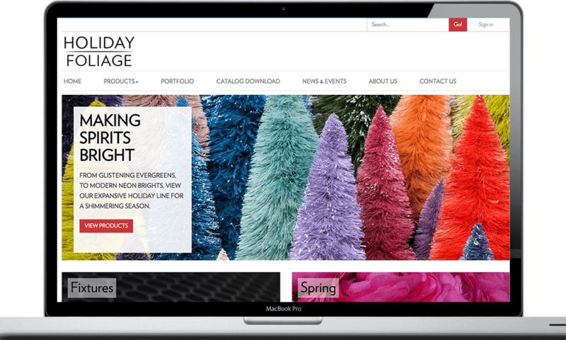 Vivid Software Solutions - Visual Display Website Redesign and Development