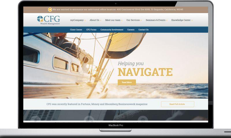 Vivid Software Solutions - San Diego Wealth Management Website Design