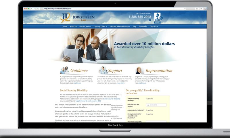 Vivid Software Solutions - A Professional Layout for Litigation Services