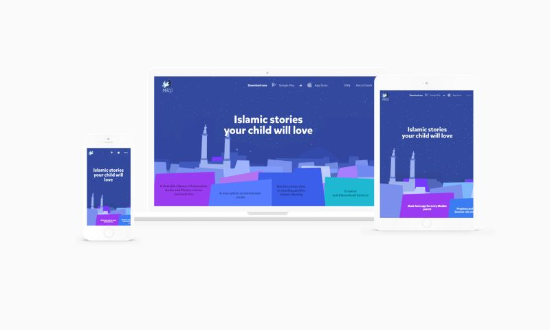 HA – interactive brand studio - Miraj Stories